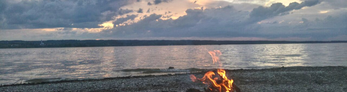 Ammersee Lagerfeuer